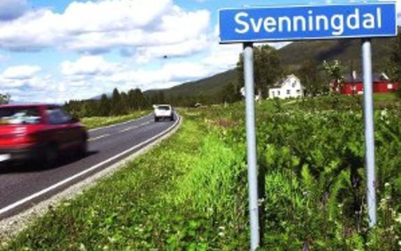 Skilt Svenningdal