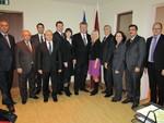 Reception at Latvian Embassy