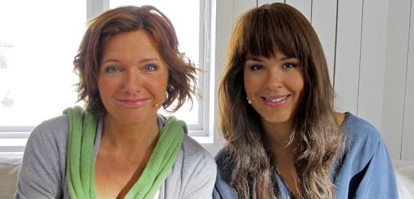 Ingrid Bjørnov og Maria Mena