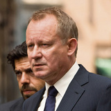 Stellan Skarsgard, center, with Pierfrancesco Favino, left, and Thure Lindhart, right, in Columbia PicturesÕ suspense thriller