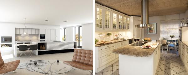 IN magasinet : Funksjonell & moderne kjøkkendesign