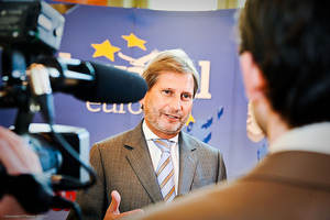 Johannes Hahn, EU Commissioner for Regional Policy - FriendsofEurope -Flick_300x200