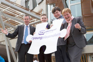 Minister launches new Young Placemakers campaign