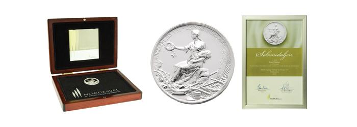 Norges Vels Sølvmedalje - en Gründerpris