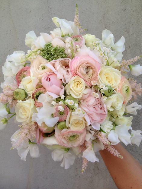 Rosa, hvit duft