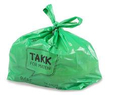 Grønn pose knytt