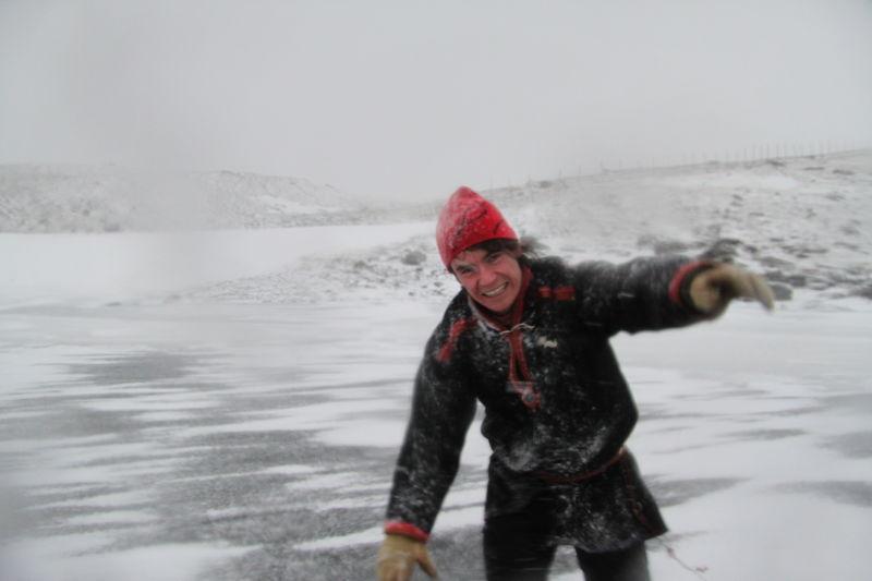 Vær folk og kontraster i Nord-Troms Foto Isabell Taknes