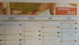 Kortversjon kalender