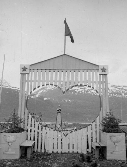 porten til den russiske kirkegården