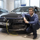 ingress moller bil VW