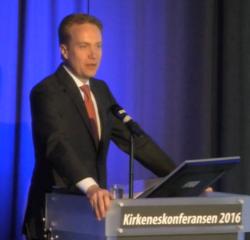 Utenriksminister Børge Brende under Kirkeneskonferansen 2016_250x240.png