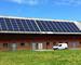 Solenergi i landbruket - solceller på låvetak Foto: nordicsolar.se