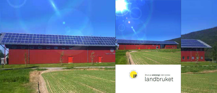 Ny brosjyre om bruk av solenergi i det norske landbruket
