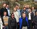 Tareprodusenter og andre prominente gjester ved åpningen av Taredyrkernettverket for mat
