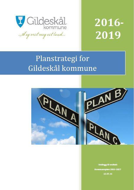 Forslag til Gildeskål kommunes planstrategi for periode 2016-2019
