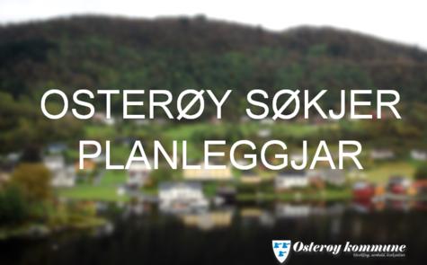 OSTERØY SØKJER PLANLEGGJAR