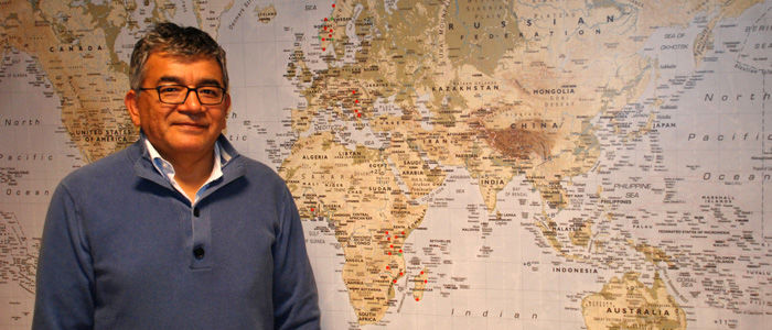 Jose Luis Ramos er ny leder for Norges Vels kontor i Tanzania