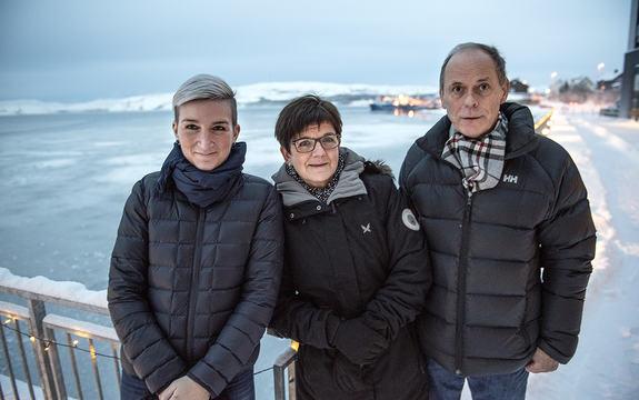 Guro Brandshaug leder for Kirkeneskonferansen, Kim Stenersen fra Barentssekretariatet og Arve Tannvik fra Kirkenes Næringshage er godt fornøyd med programmet for 2017-konferansen.