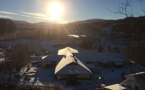 oversiktsbilde barnehage vinter