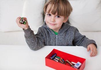 Batterier barn