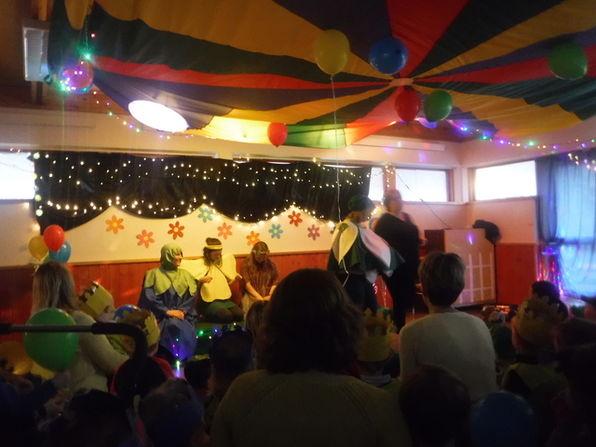fargefest, temafest, lonevåg barnehage