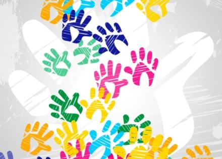 """Image courtesy of """"Handprints Color Indicates Drawing Artwork And Colors"""" by Stuart Miles at FreeDigitalPhotos.net"""
