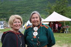 nne Husebekk og Anne Dalheim Foto Inger Elin Kristina Utsi UiT
