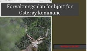 Forvaltningsplan for hjort for Osterøy kommune 2016-2020_300x424