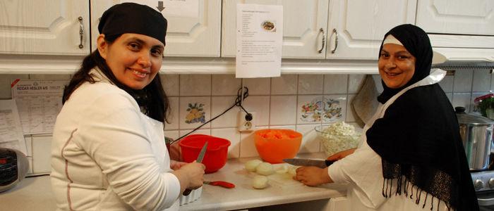 Innvandrerkvinner får matfaglig opplæring