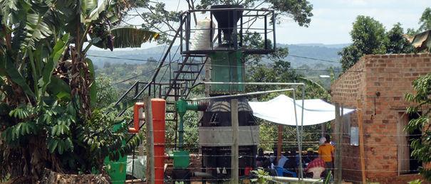 HPS gasifier operator training in Tiribogo village 700x300