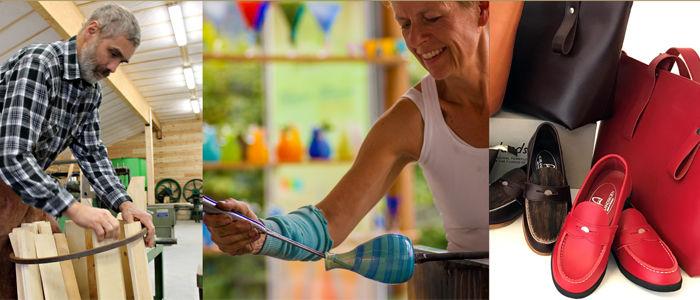 Économusée er et nettverk av håndverkere som ivaretar gamle håndverkstradisjoner og skaper nye vakre ting