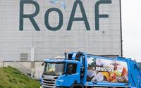 Renovasjonsbil foran ESAR