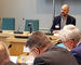 Øyvind Ørbeck Sørheim taler i Næringskomiteen for å redde organisasjonsstøtten fra regjeringens kutt