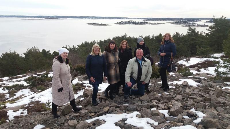 Jelgava delegation at Putten school for children at risk