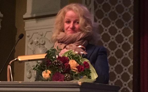 Thea Kamfjord Eriksen fikk Lillehammer kommunes kulturstipend for 2018