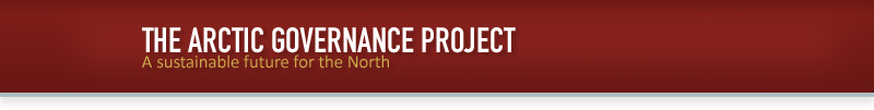 Arctic Governance Project - >Governance in a rapidly changing arctic