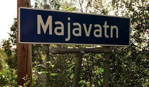 Skilt Majavatn