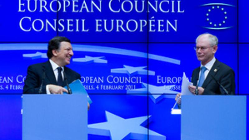 JosŽ Manuel Barroso at the European Council