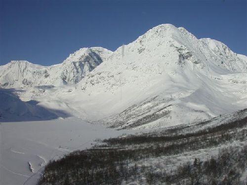 Øvre del av Lyngsdalen