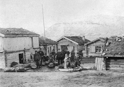 Markedsplassen mars 1883