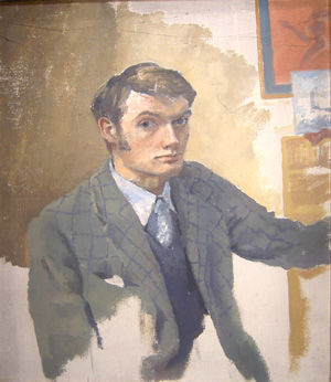 Young self portrait
