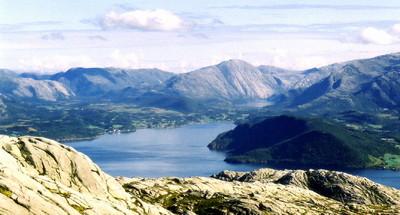 Utsikt fra Horva