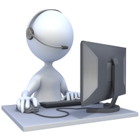 stick figure customer service  800  2051