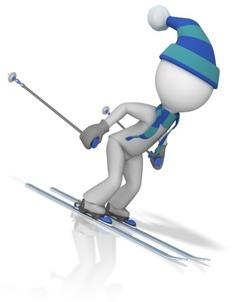 Figur på ski