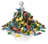 haug med bøker