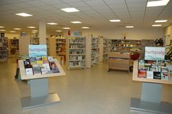 interiør bibliotek
