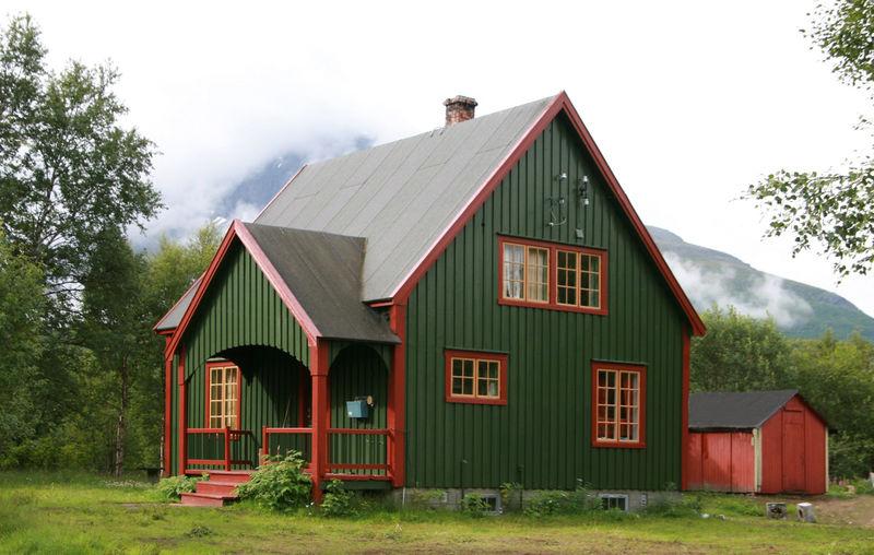 Oppsynsmannsboligen slik den ser ut i dag. Alle foto: Torild Heimdal, Statens vegvesen.