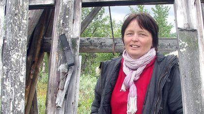 Astrid Båhl. Foto lånt fra Ságat.