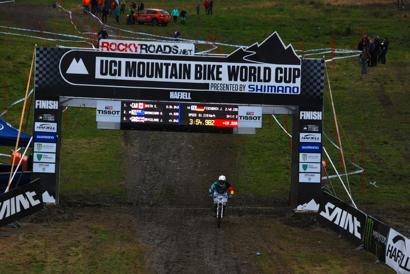 Downhill World Cup i Hafjell. I 2014 skal VM i downhill og rundbane arrangeres i Lillehammer-regionen