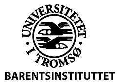 UIT Norwegian Arctic University Barentsinstituttet